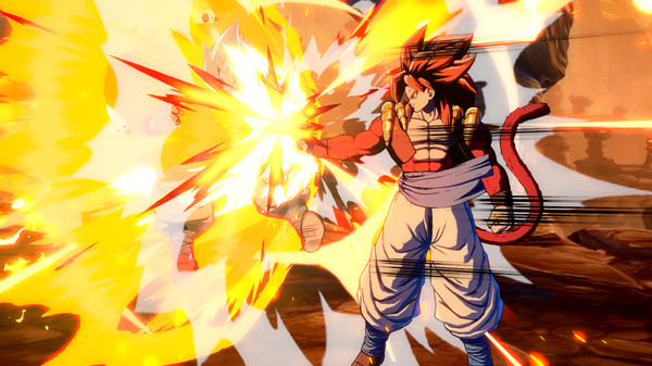 Dragon Ball FighterZ - Gogeta SS4 Crack Free Download