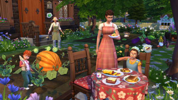 The Sims 4 Cottage Living Crack Free Download